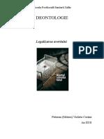Statutul legal al avortului in Romania.docx