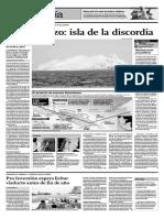 San Lorenzo Isla de La Discordia