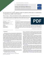 Evaluación de modelo social cognitivo