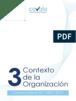 Contexto de La Organización