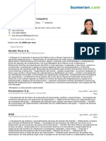Cv Paola Isabel Donayre Izaguirre