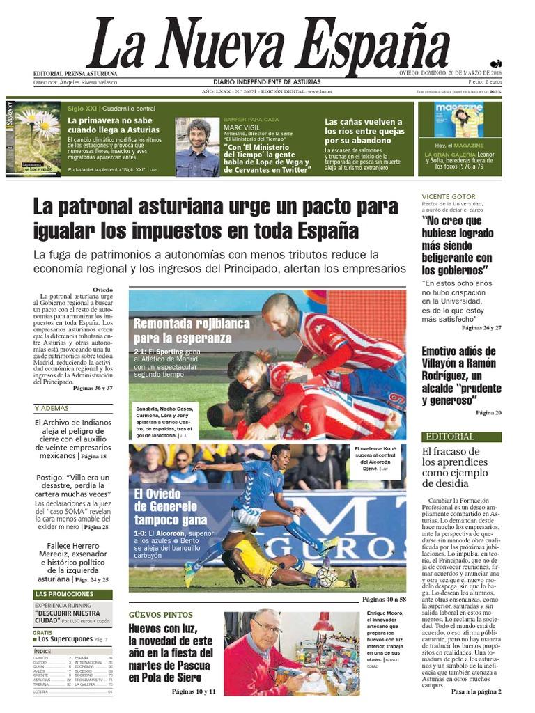 Magazine La nueva españa