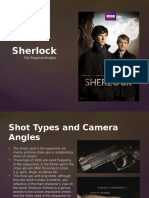 Sherlock Title Sequence Analysis