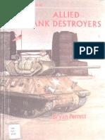 Osprey - Vanguard 010 - Allied Tank Destroyers