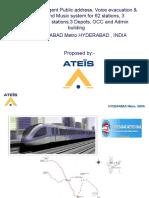 Hyderabad Metro-ATEIS Design