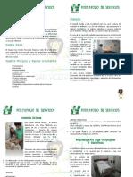 Portafolio de Servicios Actualizado 2016