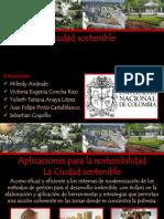 ciudades sostenibles.