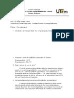 relatorio recristalização