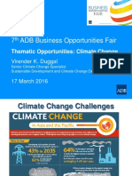 5 Plenary-Thematic Climate Change by VDuggal 17Mar2016