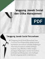 Bab 5 Tanggung Jawab Sosial Dan Etika Manajemen