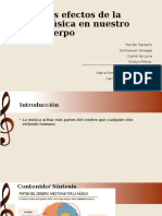 Los Efectos de La Música en Nuestro Cuerpo