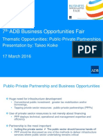 6 Plenary-Thematic PPP by TKoike 15Mar2016