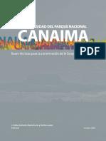 Biodiversidad Del Parque Nacional Canaima