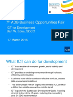 7 Plenary-Thematic ICT by BEdes 11Mar2016