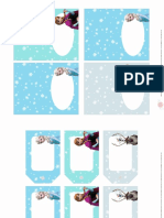 FROZEN Etiquetas Fiesta a Imprimir Personajes