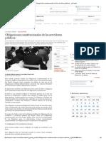Obligaciones Constitucionales de Los Servidores Públicos - La Razón - JOSÉ MARÍA PACORI CARI