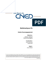 Cours CNED Maths - CE1