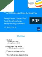 1 Energy SDCC by PWijayatunga Rev 16Mar2016