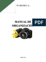 Manual de Organización Tuselfie C.A