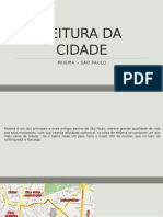 Leitura Da Cidade - Bairro Moema
