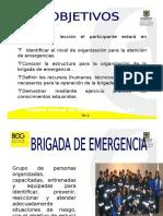 Conformación de Brigadas