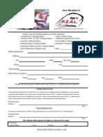 Camp Registration Form