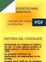 Chocolate y Gelatina
