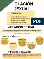 Violación Sexual