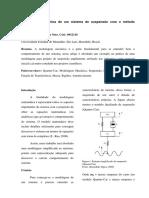 Modelagem Mecânica de Um Sistema de Suspensão Com o Método Quarter