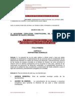 Ley de Fomento a Las Energías Renovables Del Estado de Oaxaca