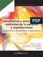 Consultorías y psicoterapias centradas en la persona y experien-1