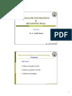 Shallow Foundation 01