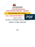 Ept Tic4 Programa Anual 4to