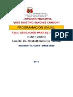 Ept Tic5 Programa Anual 5to