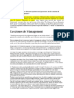 Lecciones de Management