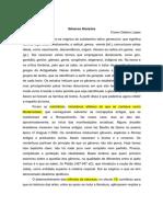 Cícero Galeano Lopes. Gêneros Literários
