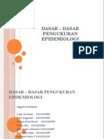 Dasar _ Dasar Pengukuran Epidermiologi