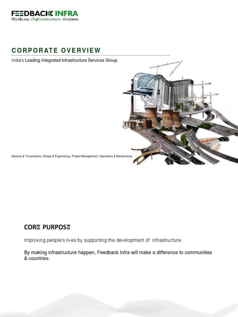 Corporate Presentation Feedback Ventures Infrastructure Cogeneration Block Diagram Sbd Power Substation Control Ticom
