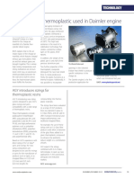 Heat Resistant Thermoplastic Used in Daimler Engine 2012 Reinforced Plastics