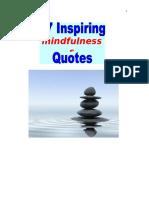 57 Inspiring Mindfulness Quotes