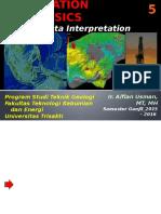 5. Seismic Interpretation Ganjil 2015-2016 TG