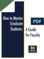 handbook of mentoring for faculty