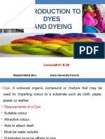 Lecture 01 to 06 Intridution to Dyes & Dyeing