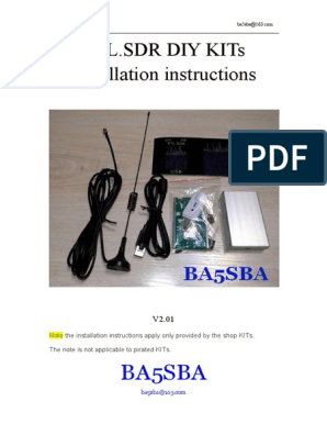 RTL sdr DIY KITs Installation Instructions | High Frequency