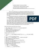 Soal Uh Kelas x Ipa (b)
