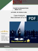 Recruitment of a star