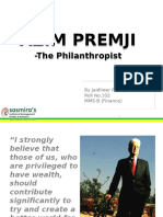Wealth Management - Azim Premji Ppt