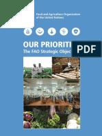 fao strategic objectives