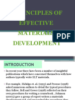 4 Principles of Effective Materials Development