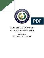 MCAD Reappraisal Plan